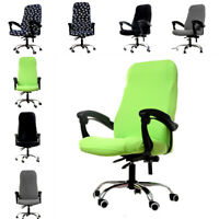 Flower Style Office Computer Chair Slipcover Swivel Rotate Seat Covers #2