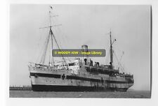 rp6628 - Hospital Ship - Karoola  , built 1909 - photo 6x4