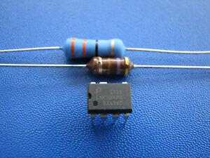 LNK304PN + Widerstand 33 Ohm 3W + HF Drossel 470µH für WM und Trockner