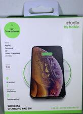 Belkin Studio 5W Universal Wireless Charging Pad Qi-Certified Apple Samsung LG