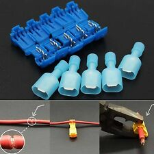 40pcs Quick Lock Splice Wire Connector Terminal Crimp Clip Car Wiring Cable Set