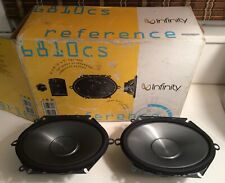 Infinity Reference Series RARE! 6810cs Car Audio Speakers 6x8's