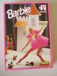 Vintage BARBIE 60 piece JIGSAW PUZZLE - SPEAR'S GAMES 1995 - COMPLETE