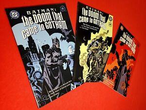 Batman: The Doom That Came To Gotham #1 2 3 Set! DC Comics Mike Mignola Art 2000
