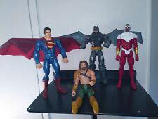 "Dc Batman vs Superman 12"" Aquaman & The Falcon Action Figures Toy Mattel 2015"