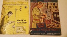 Lot of 2 Vintage Electrical Catalogs Mallory 1940 Sears 1969