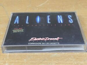 ALIENS . Electric Dreams for Commodore C64. Complete with map