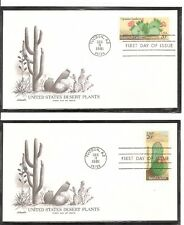 US SC# 1942-1945 Desert Plants FDC . Artmaster Cachet.