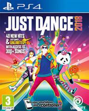 Just Dance 2018 (PS4) Neuf et Scellé - en Stock - Expédition Rapide - Import