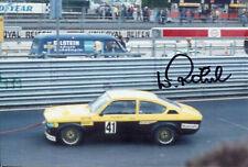 Walter Röhrl irmscher Opel Kadett GT/E Super Sprint nurburgring 1976 foto 10x15