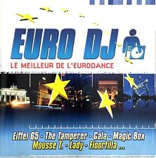 Compilation CD Euro DJ - Le Meilleur De La Dance - France (EX/EX)