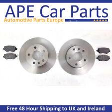 Vauxhall Corsa D 1.0 06-15 Front Brake Discs & Pads SOLID