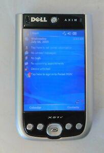 Dell  Axim X51v Personal Digital Assistant (PDA) W/ Accessories