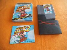 Super Mario Bros 2 in OVP kleine Box small Nintendo NES