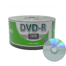 50 Pack MyEco DVD-R DVDR 16X 4.7GB Economy Branded Logo Blank Recordable Disc