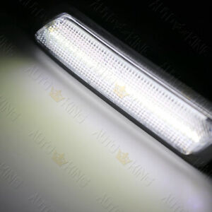 FIT BMW F30 F31 328I 335I WHITE LED CLEAR BUMPER TURN SIGNAL SIDE MARKER LIGHTS