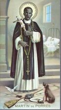 S. MARTIN de PORRES - SANTINO HOLY CARD - AS015-294 - Ed. NB - spanish text
