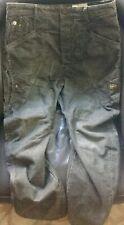 G-STAR RAW 32x34 Silver corduroy pant jean denim