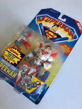 Superman Animated Series Neutron Star Superman NEW Action Figure Kenner 1996 NIP