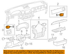 TOYOTA OEM Tundra Dash Air Vent-AC A/C Heater Duct Outlet Louvre 556800C060C0