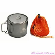 TOAKS Titanium ULTRALIGHT 550ml Pot POT-550-L  - Outdoor Camping Cup Bowl Pot