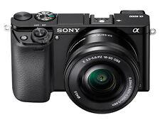 Sony Alpha A6000 24.3 MP Mirroless Digitalkamera - schwarz