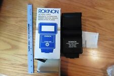 Vintage Rokinon 4700 MD Bounce Thyristor zoom swivel multi dedicated flash