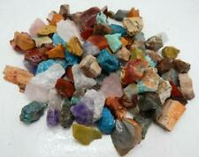 "3 lb. Africa Stone/Crystal Mix 1-1/2 to 2"" 20-30 g. Tumbling Stones"