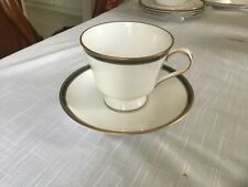spode tuscana footed coffee cup & saucer (set of 8) -New