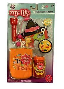"""My Life as Halloween Trick or Treat Accessory Play Set for 18"""" Doll"""