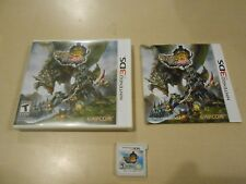 Monster Hunter 3 Ultimate Nintendo 3DS Game Complete w/ Manual (plays in 2DS)