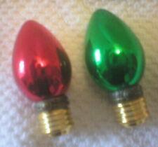 Phb Midwest Hinged Trinket Boxes – Christmas Light Bulbs – Rare – Set 2