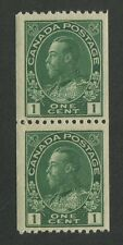 CANADA #131 MINT PAIR VF NH
