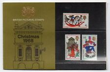 GB 1968 Christmas Presentation Pack VGC. Stamps.