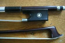 2 PCS Nice Violin Bows 4/4 Old copy ,Selected pernambuco , Silver mounted