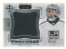 JONATHAN QUICK 2013-14 Ultimate Collection Premium Swatches #/35 UD L.A. Kings