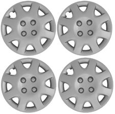 "NEW 1998-2000 Honda CIVIC 14"" 8-spoke Silver Hubcap Wheelcover SET OF 4"