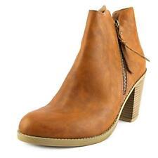 Botas de mujer plataformas de piel color principal marrón