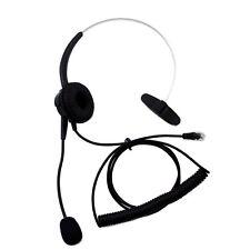 T400 Headset Headphone For Meridian Norstar M7208 M7310 M7324 T7208 T7316 T7316E