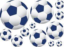 36 Soccer Ball Wall Decor Art Stickers Decals Navy Blue