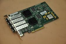LSI Quad Port 4GB PCIe FCl HBA Card LSI7404E2-LC w/ 4x JDSU PLRXLE-VE-SG4-26 SFP