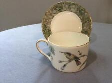 Wedgwood Humming Birds bone china cup and saucer ca. 1991