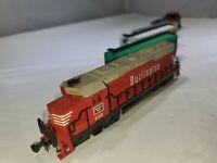 N Scale Train Set Burlington Diesel Locomotive *UNTESTED*