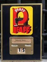 CALENDARIO PERPETUO 1950 PFAFF MACCHINE PER CUCIRE SEWING MACHINE