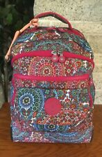 KIPLING SANAA CARRY ON LUGGAGE LARGE BACKPACK ROLLING BAG WHEELED TRAVEL