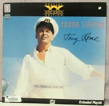 Tony Rome Laserdisc Special Widescreen Edition Frank Sinatra Former Rental