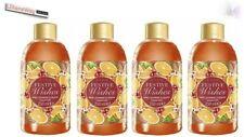 4x Avon FESTIVE WISHES Merry Cranberry & Orange Bubble Bath 250ml Each~BARGAIN