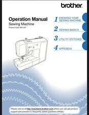 Brother Xr1300 Sewing Machine Owners Instruction Manual Reprinted Bound Copy