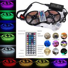 10M 5050SMD RGB LED Color Change Strip Light Kit 44 Key Remote 2 Outlet 8A Power