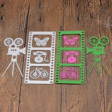 Metal Projector Film Cutting Dies DIY Paper Crafts Template Scrapbooking Decor